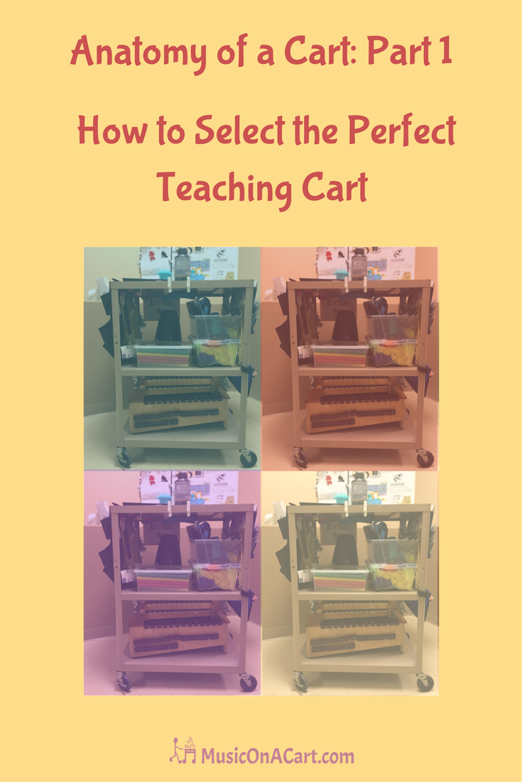 What to look for in a music teaching cart | MusicOnACart.com