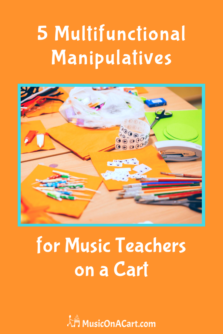 Check out these super fun, multifunctional manipulatives for teaching elementary music | www.MusicOnACart.com