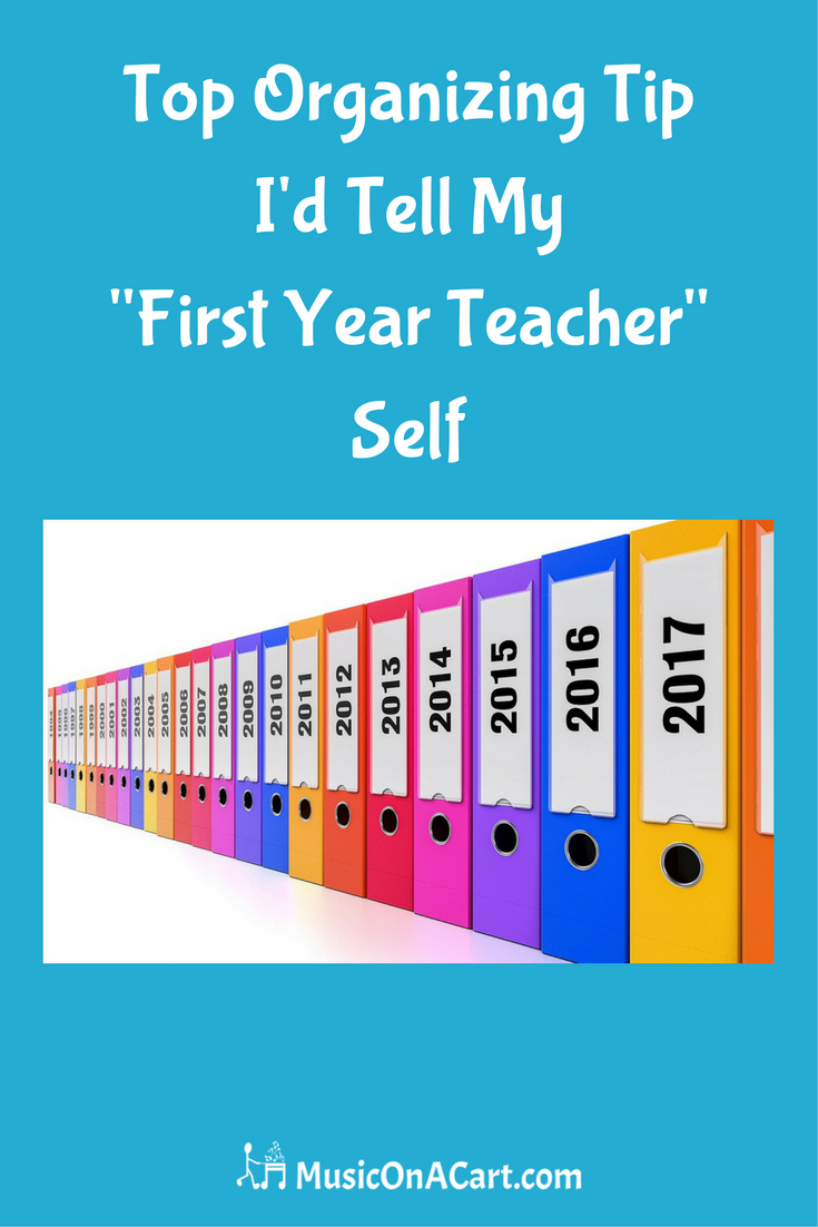 Top Organizing Tip I'd Tell My First-Year-Teacher Self