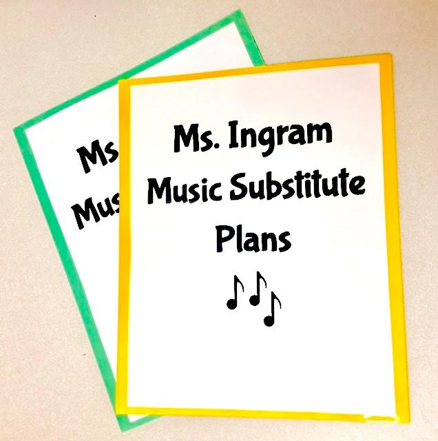 Teaching music from a cart? Here's my go-to music lesson activity for substitute lesson plans. | www.MusicOnACart.com