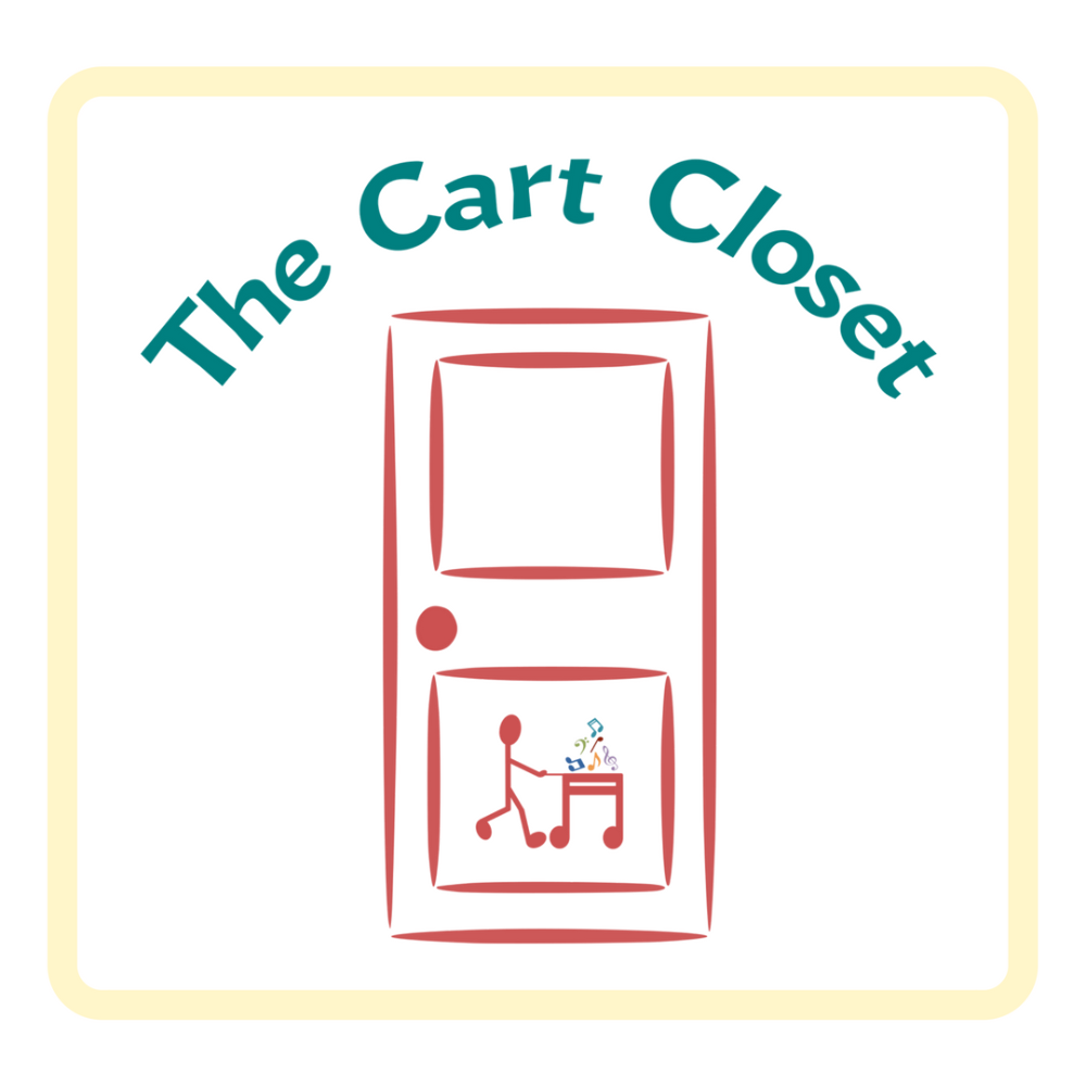 Check out the Cart Closet for exclusive music teaching resources! | www.MusicOnACart.com