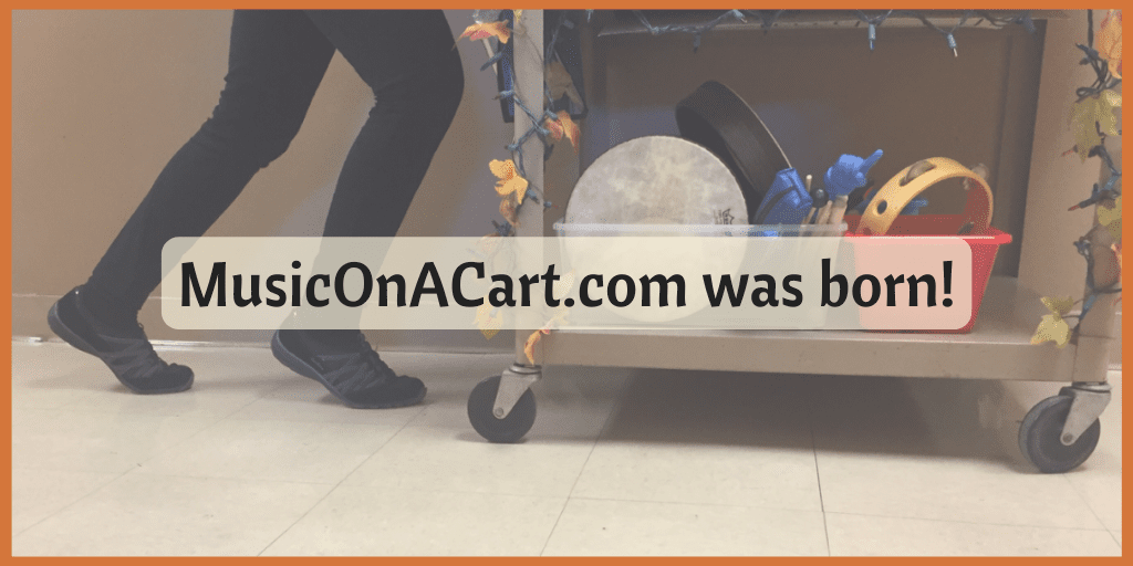 The ultimate resource to help you rock as you roll, teaching music from a cart! | www.MusicOnACart.com