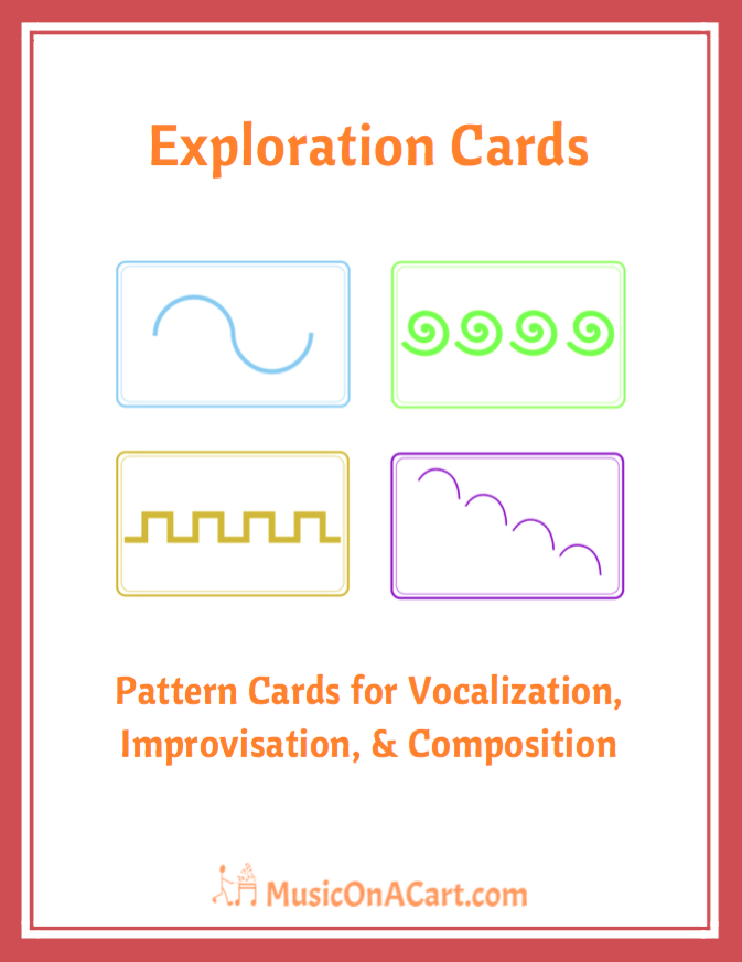 A great vocal, compositional, and movement teaching tool for your music classes! | www.MusicOnACart.com